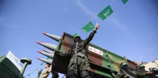 Hamas Siegeskundgebung in Gaza am 30.05.2021. Foto IMAGO / ZUMA Wire