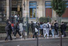 Symbolbild. Eine Schule in Paris. Foto IMAGO / IP3press