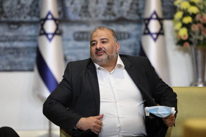 Der Vorsitzende der Vereinigten Arabischen Liste, Mansour Abbas. Foto IMAGO / UPI Photo