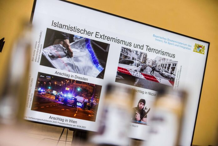 Symbolbild Bayerischer Verfassungsschutz. Foto IMAGO / ZUMA Wire