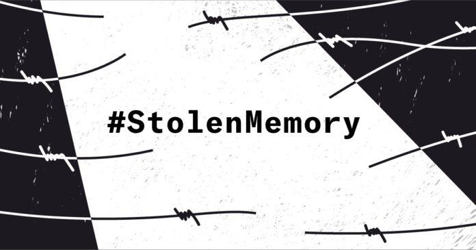 Foto Screenshot www.stolenmemory.org
