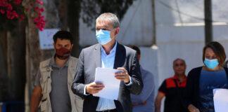 Der Generalkommissar von UNRWA, Philippe Lazzarini, während einer Pressekonferenz in Gaza-Stadt am 23. Mai 2021. Foto IMAGO / ZUMA Wire