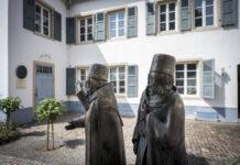 Mittelalterlicher Judenhof in Speyer. Mainz, Worms und Speyer am Rhein waren im Mittelalter Zentren juedischer Kultur und Gelehrsamkeit. Foto IMAGO / epd