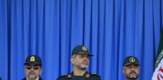 Irans neuer Innenminister Ahmad Vahidi in der Mitte. Foto IMAGO / UPI Photo