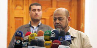 Der ranghohe Hamas-Führer Mousa Abu Marzouk. Foto IMAGO / ZUMA Wire