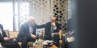 Bundesaussenminister Heiko Maas (R), SPD, mit Mohammed Javad Zarif (L), Aussenminister des Iran, in New York, am 27. September 2018. Foto IMAGO / photothek