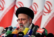 Der neu gewählte iranische Präsident Ebrahim Raisi während einer Pressekonferenz in Teheran am 21. Juni 2021. Foto IMAGO / UPI Photo