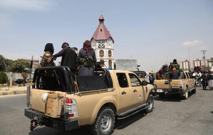 Taliban-Kämpfer in Kabul, der Hauptstadt Afghanistans am 17. August 2021. Foto IMAGO / Xinhua