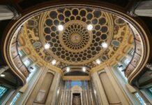 Das Kulturforum Görlitzer Synagoge mit prachtvollem Kuppelsaal. Der Sakralbau in der Neißestadt zählt zu den wenigen Synagogen in Deutschland, die den Nationalsozialismus überstanden haben. Foto Europastadt GörlitzZgorzelec GmbH