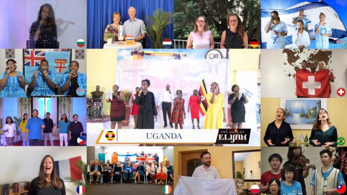 Bitfilah Amen: Worship From The Nations. Foto Screenshot Youtube / ICEJ