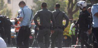 Sicherheitskräfte in Jerusalem, 13. September 2021. Foto Shalev Shalom/TPS