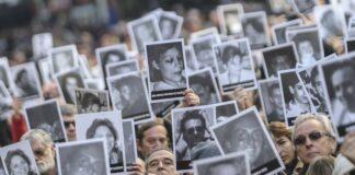 18. Juli 2016, Gedenken an den Bombenanschlag auf das jüdische Gemeindezentrum AMIA in Buenos Aires. Foto IMAGO / Agencia EFE