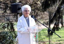 Die Auschwitz-Überlebende Liliana Segre. Foto IMAGO / Italy Photo Press