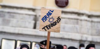 Anti-Israelische Kundgebung am 11. Mai 2021 in München. Foto IMAGO / ZUMA Wire