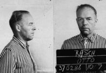 Otto Rasch, 49 Jahre alt. Einer der deutschen Soldaten, die Juden in Babyn Yar ermordeten. Foto Babyn Yar Holocaust Memorial Center.