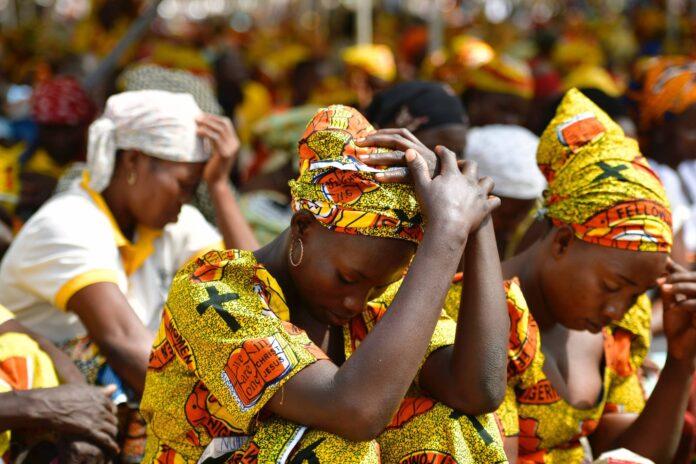 Christen in Nigeria. Symbolbild. Foto IMAGO / epd