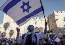 Jahrestag der Wiedervereinigung Jerusalems im Sechstagekrieg 1967 am 15.06.2021. Foto IMAGO / ZUMA Wire