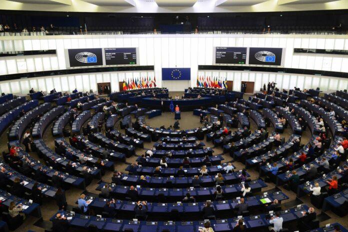 Symbolbild. Europäisches Parlament in Strassburg. Foto IMAGO / SNA