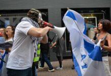 Anti-Israel Demonstration am 18. September 2021 in London. Foto IMAGO / ZUMA Wire
